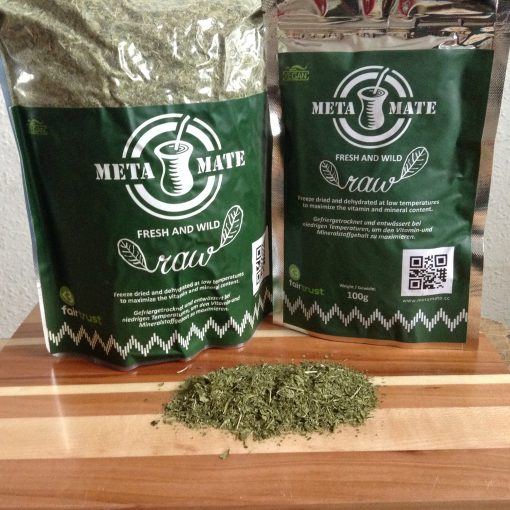 Raw Mate Classic 500 gr und 100 gr Verpackung