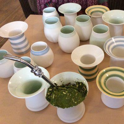 Porcelean Cuias / Mate cups
