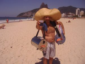 Roasted mate served iced and sweet is loved on Rio's beaches