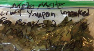 yaupon , first time, guarany yerba mate
